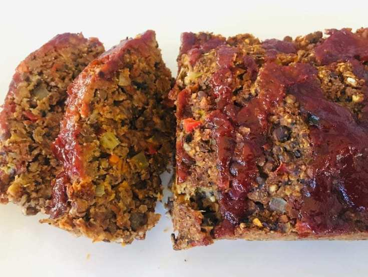"IMG_9341 Vegan Meatloaf - ""Meatless"" Lentils!"