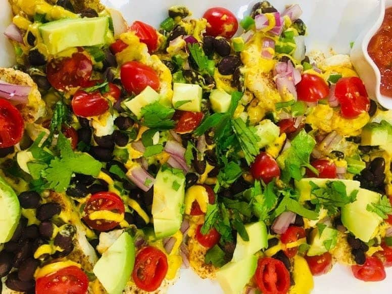cauliflower nachos recipe