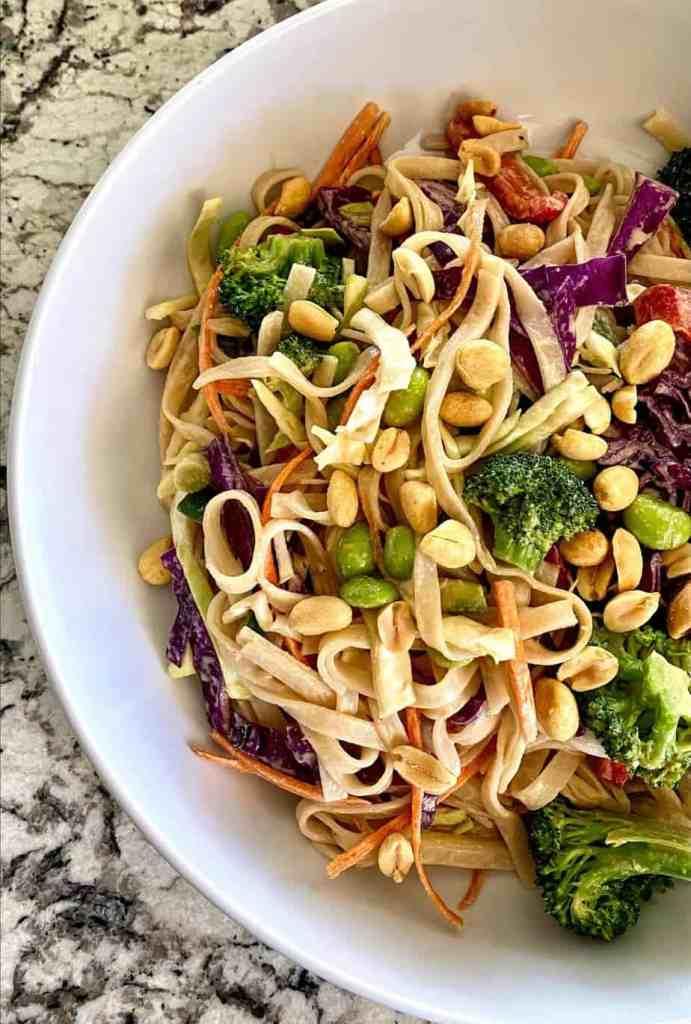 Asian Tahini Noodle Bowl