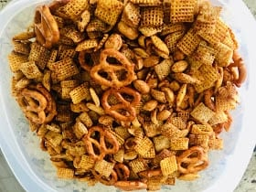 IMG_9556 Skinny Vegan Chex Mix