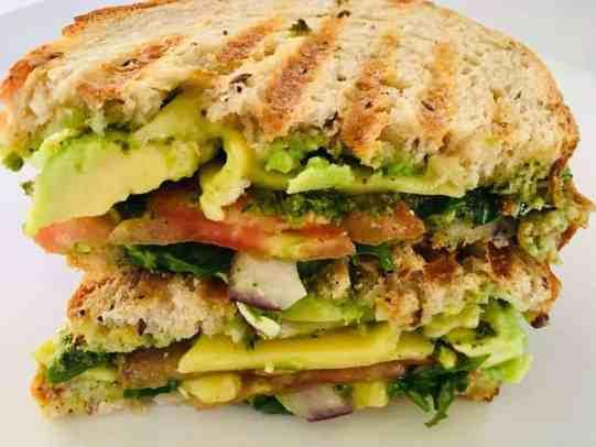 IMG_9561-300x225 Artichoke Pesto Vegetable Panini