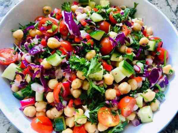 IMG_9573-2-300x225 Skinny Vegan Rainbow Salad