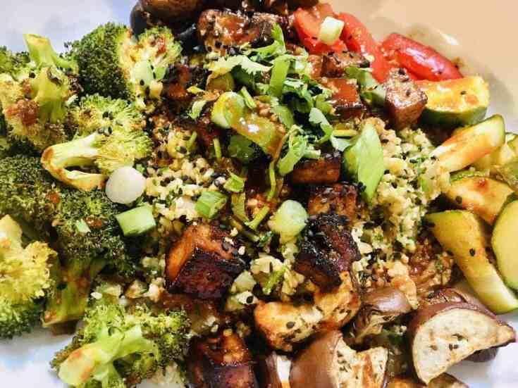 Vegan-Tofu-Korean-Bowl-scaled Bibimbap Vegan