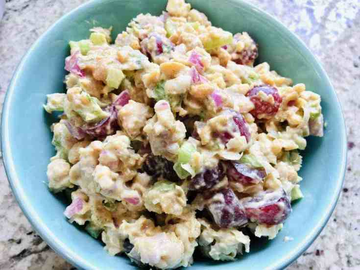 chickpea-chciken-salad-in-a-bowlJPG-scaled Vegan Chicken Salad