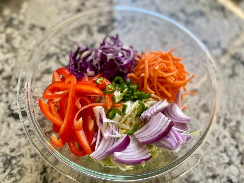 IMG_0530-1024x768 Vegan Coleslaw with Avocado & Cilantro