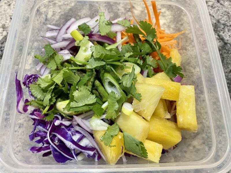 vegan quinoa salad to go