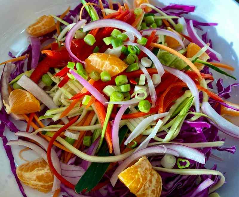 vegan asian coleslaw recipe