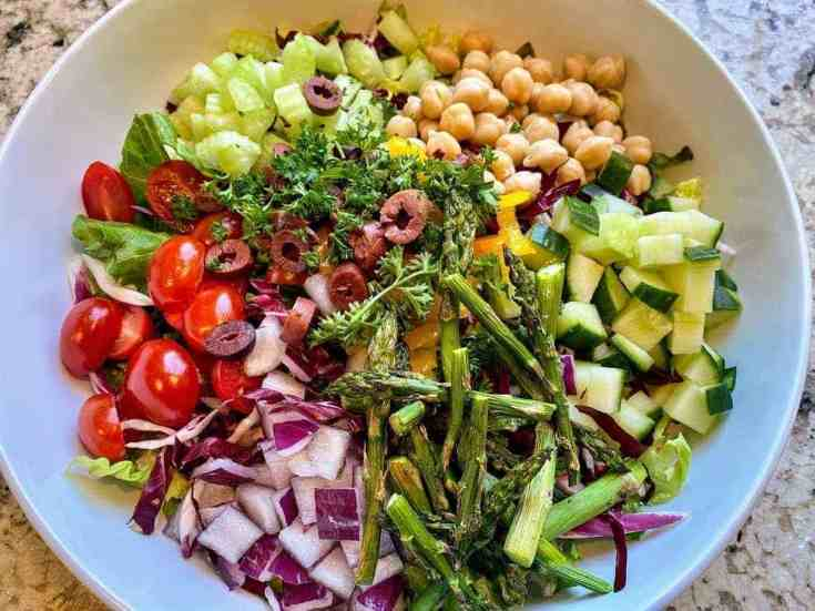 Vegan Italian Chopped Salad
