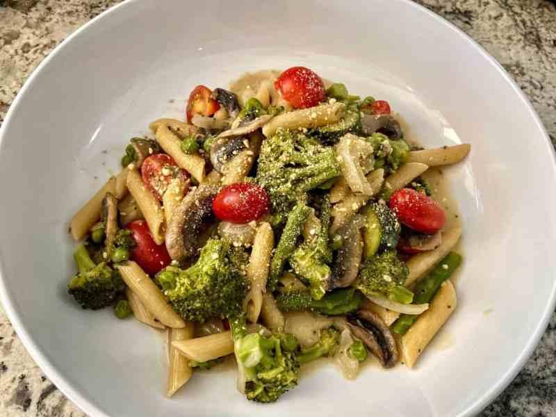 Vegan Pasta Primavera Recipe