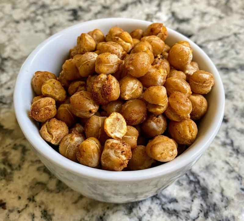 Air-fried chickpea recipe