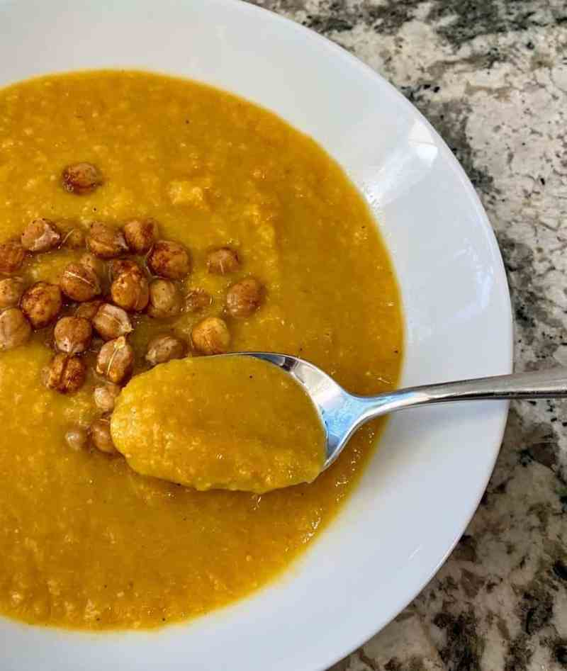 cream of chickpea soup recipe