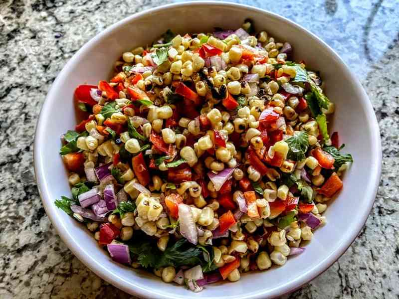 charred corn salad recipe