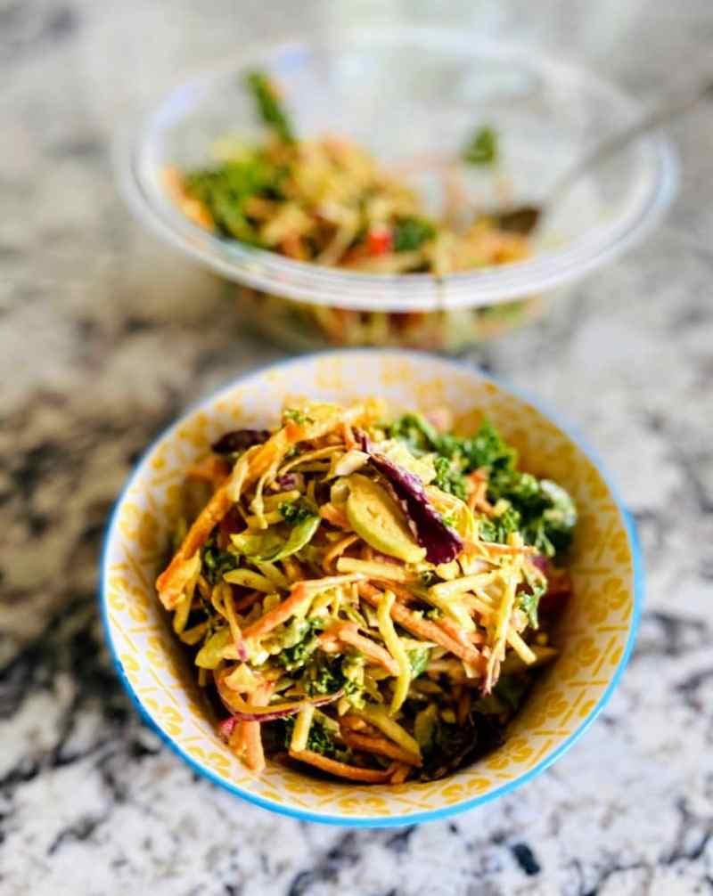 BBQ coleslaw recipe