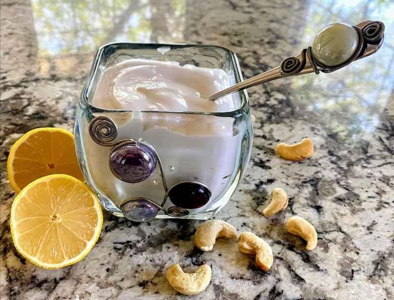 Vegan sour cream ingredients