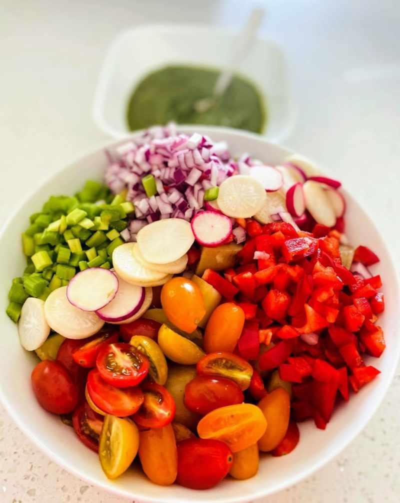pesto potato salad ingredients