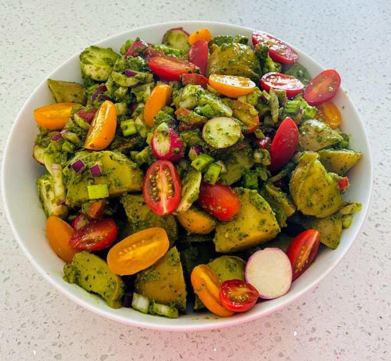 pesto potato salad recipe