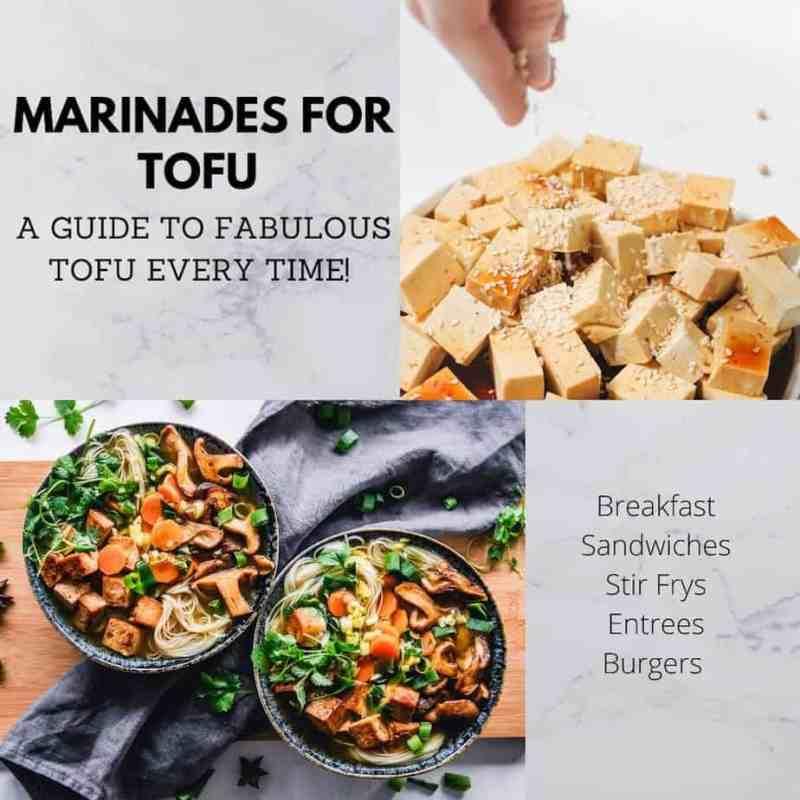 Marinades for Tofu