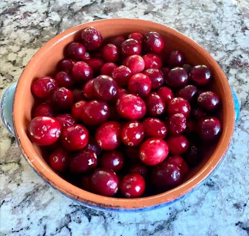 cranberry with orange