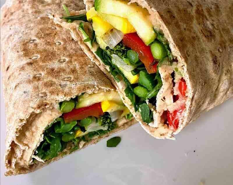 veg wrap