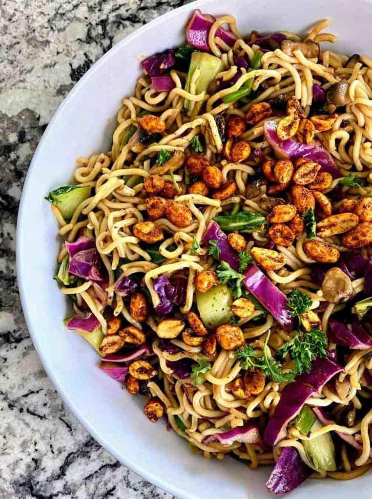 vegan dan dan noodle recipe