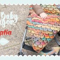 Lerne den Schuppenstich und häkle unseren Strampelsack Drachenschwanz mit Katia Azteca