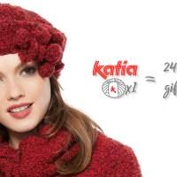 24 handgemachte Geschenkideen für Weihnachten aus nur einem Knäuel Katia-Garn