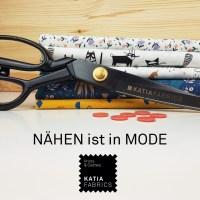 Nähen ist in Mode - lerne die Grundlagen des Nähens mit Katia Fabrics