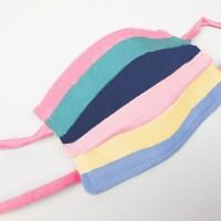 Regenbogen-Maske 🌈 aus unserem neuen antibakteriellen Popeline
