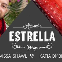 Craft Lovers ♥ Eivissa Shawl knitted with Katia Ombré by Alessandro Estrella