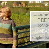 Craft Lovers ♥ Ribeira Sacra Jumper knitted with Katia Lincys by The Single Crochet