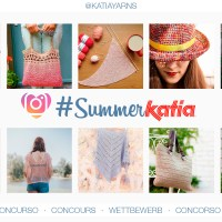 Do you also knit or crochet with Katia yarns during the summer? Take part in our #SummerKatia competition