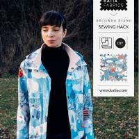 Sewing Hack: Learn to modify a raincoat pattern step by step with Sasha
