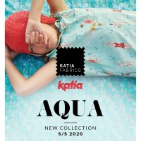 New collection Katia Fabrics Spring Summer 2020: Discover AQUA the new sewing magazine and the 58 refreshing print fabrics