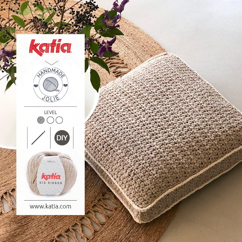 crochet floor cushion update your home
