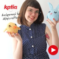 Amigurumi for Minicrafters: New videos to crochet Easter eggs, chicks and bunnies