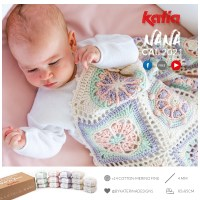 If you love granny squares, join our new CAL and crochet the Nana baby blanket designed by @bykaterinadesigns