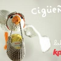 Craft Lovers ♥ Cigüeña por Lalala Toys