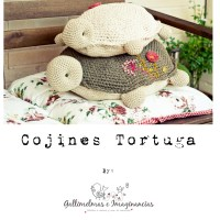 Craft lovers ♥ Cojines Tortugas por Gallimelmas e Imaginancias