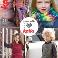 10 revistas Katia para tejer más de 200 modelos con instrucciones detalladas