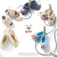 2 vídeos para aprender a tejer patucos y botitas para bebé
