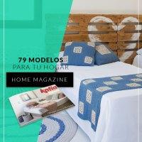 Revista Hogar 3: 79 patrones de punto, ganchillo y macramé para decorar tu casa