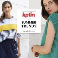 4 Tendencias Moda Tejida a Mano Verano 2019: rayas, oversize, asimetría y detalles sencillos