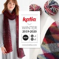 11 nuevas lanas Katia Otoño Invierno 2019-2020 para tejer accesorios y prendas con sólo 1 ó 2 ovillos
