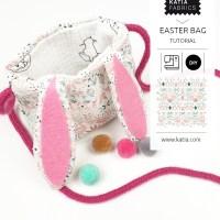 Manualidades para niños: Bolsa para huevos de Pascua 🥚