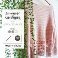 ¿Buscas un reto ganchillero este verano? Haz el cardigan a crochet con flores de @wolgelukjes