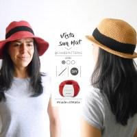 ¿Cómo hacer un sombrero a ganchillo para el verano? ¡Muy fácil con el patrón de Chabepatterns!
