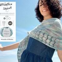 Vídeo tutorial Chal Atlántico de Marianela Galo: Cómo tejer un chal de media luna para las noches de verano