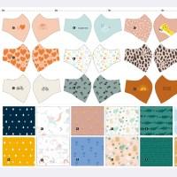 😷 Confecciona 13 mascarillas fácilmente con el nuevo panel de mascarillas para toda la familia 🌈