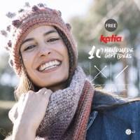 10 patrones gratuitos para tejer regalos fáciles y rápidos a punto o a crochet con los nuevos ovillos Katia