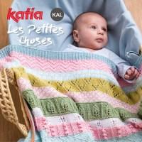 KAL Les Petites Choses: ¡Vamos a tejer juntos esta dulce manta de bebé en nuestro grupo Knit-Along Katia!
